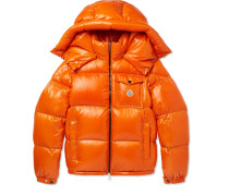 Montbeliard Quilted Shell Down Jacket
