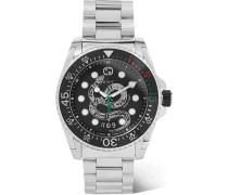 Gucci Dive 45mm Stainless Steel Watch - Black