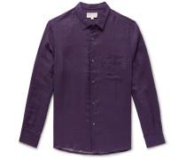 Milan 8 Printed Linen Shirt