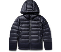 Riom Wool-trimmed Quilted Shell Jacket