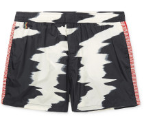 Mid-length Printed Swim Shorts - Multi