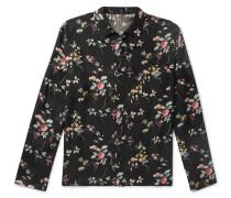 Floral-print Twill Shirt