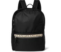 Sally Logo-print Nylon Backpack