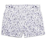 Praia Short-length Printed Swim Shorts
