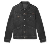 Stretch-cotton Corduroy Jacket - Black