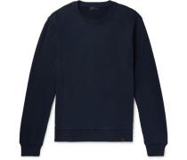 Loopback Cotton-jersey Sweatshirt - Navy
