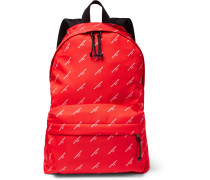 Explorer Printed Nylon Backpack