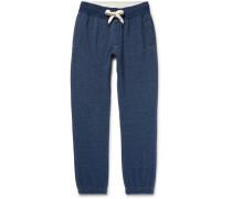Fleece-back Cotton-blend Jersey Sweatpants