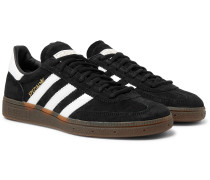 Handball Spezial Suede and Leather Sneakers
