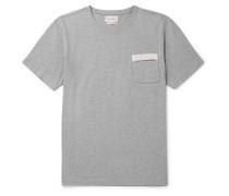Mélange Organic Cotton-Jersey T-Shirt