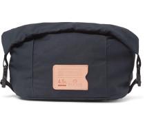 Bantou Leather-Trimmed Ripstop Wash Bag