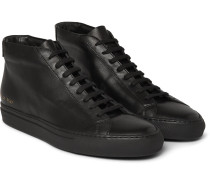 Original Achilles Leather High-top Sneakers - Black