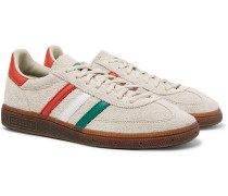 Spezial Handball Leather-trimmed Suede Sneakers - Beige
