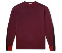 Colour-Block Wool and Cashmere-Blend Sweater