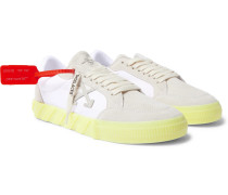 Suede and Canvas Sneakers
