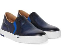 Playtime Leather Slip-on Sneakers