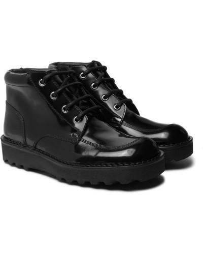 Maison Margiela Herren Polished-leather Boots Verkauf Visum Zahlung 5wEXUr