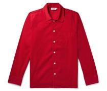 Henry Cotton-Corduroy Pyjama Shirt