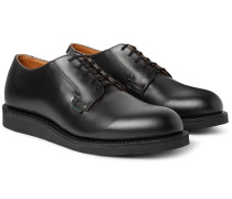 Postman Leather Derby Shoes