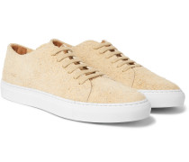 Court Brushed-suede Sneakers