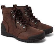 Ankeny Waterproof Leather Boots - Brown