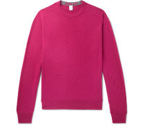 Cashmere and Mulberry Silk-Blend Sweater