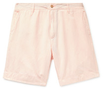 Malibu Slub Linen and Cotton-Blend Shorts