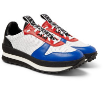 Tr3 Perforated Leather Sneakers - Multi