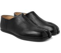 Tabi Collapsible-heel Split-toe Leather Loafers