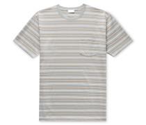 Striped Pima Cotton-Jersey T-Shirt