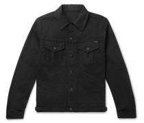 Slim-fit Selvedge Denim Jacket - Black