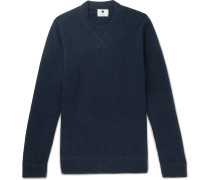 Glen Bouclé-Knit Sweater