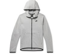 Sportswear Mélange Cotton-Blend Tech Fleece Zip-Up Hoodie