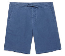 Emil Garment-dyed Linen Drawstring Shorts