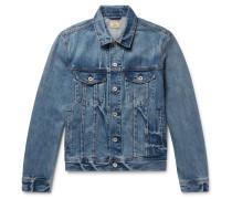 Indigo-dyed Denim Jacket