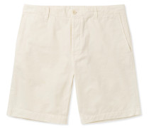 Garment-dyed Cotton-twill Bermuda Shorts