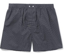 Plaza Polka-Dot Cotton Boxer Shorts