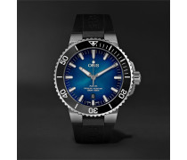 Clipperton Automatic 43.5mm Stainless Steel And Rubber Watch - Blue