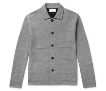 Double-Faced Knitted Chore Jacket