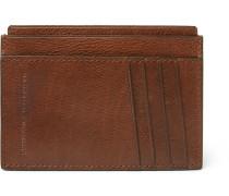 Burnished Full-grain Leather Cardholder