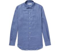 Andre Slub Linen Shirt