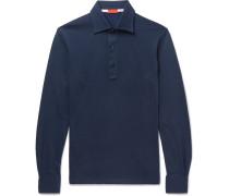 Cotton-jacquard Polo Shirt