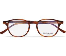 Round-frame Tortoiseshell Acetate Optical Glasses - Tortoiseshell