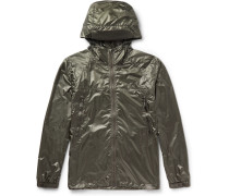 Sandpoint Shell Hooded Rain Jacket - Sage green