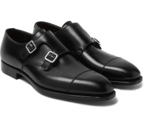 Thomas Leather Monk-strap Shoes