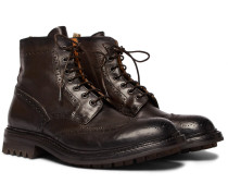 Exeter Leather Brogue Boots