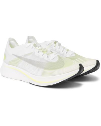 Nikelab Zoom Fly Sp Ripstop Sneakers - White