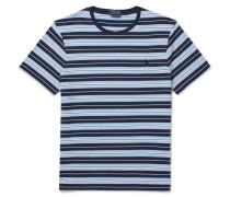 Striped Cotton-Jersey T-Shirt