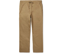 Easy Cotton-Twill Drawstring Chinos