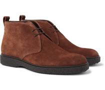 Ferdia Suede Desert Boots - Brown